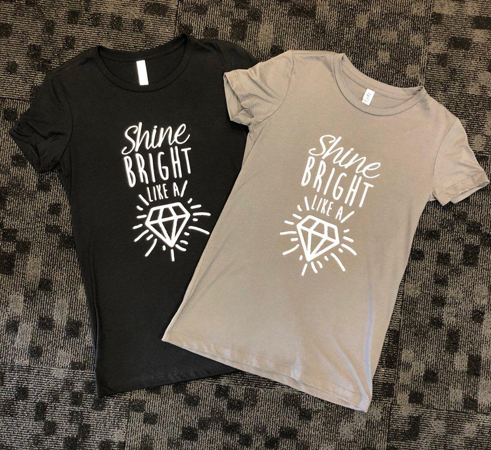 Shine like a Diamond shirt.JPG