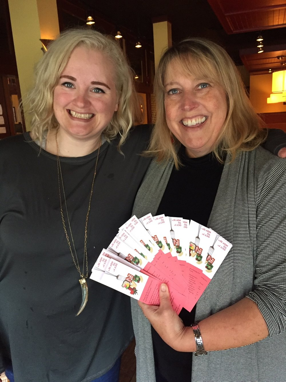 Ginger Hop owner Katey Leitch purchased Eat NE cards for her entire staff