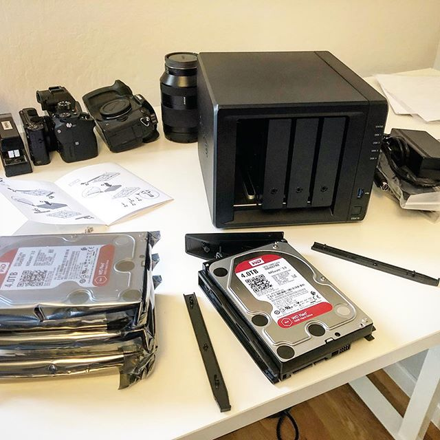 Media management day!! Until now, all the footage from Mongolia was stored precariously on SD cards and external hard drives. With this, Cloth Map's second network drive (the first one is already full of footage from our previous trips), the footage is a lot safer. It also makes editing easier, since everything is all in one place!