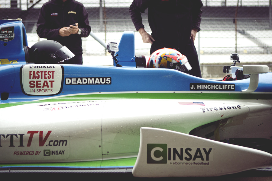 Hinchcliffe & Deadmau5 at IMS Track
