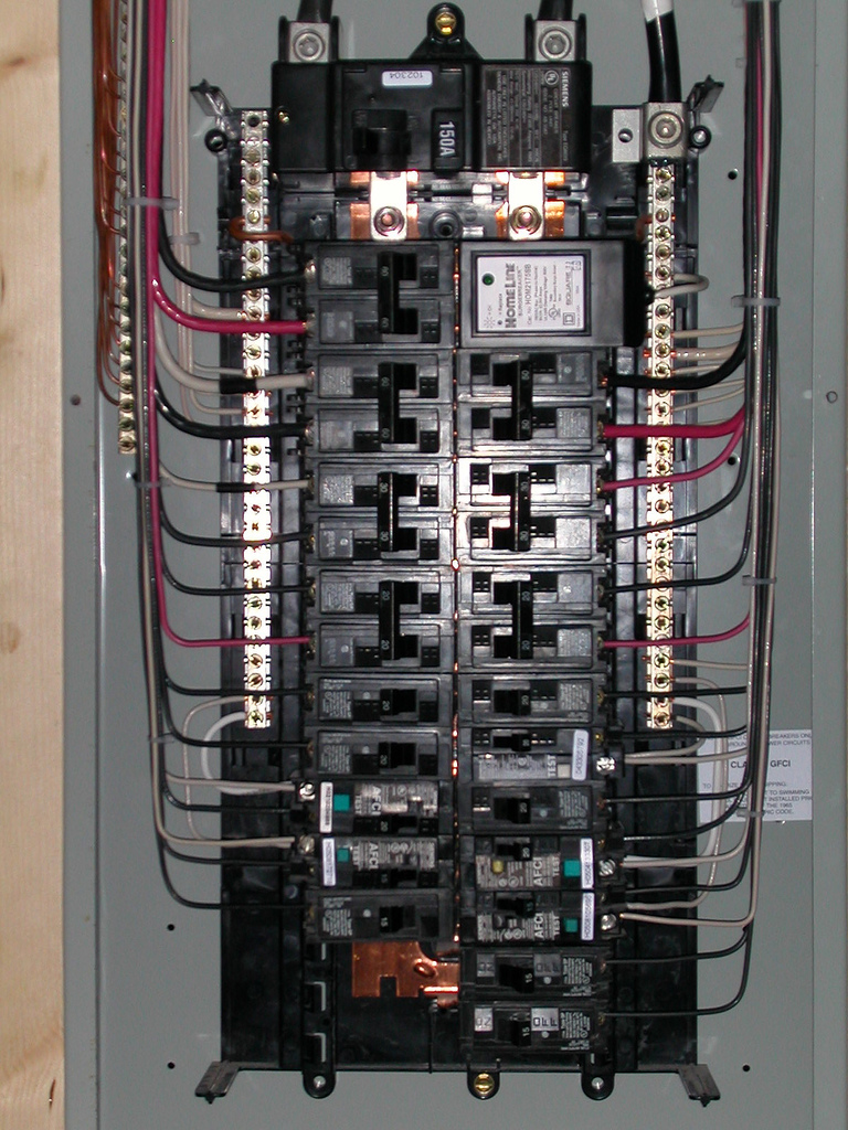 Replacing a circuit breaker box only requires a licensed electrician and code inspections for the primary breaker box.  If your circuit breaker box has been damaged by fire, electrical surges or impact, then you will need to replace the entire box.  Replacing the entire box is easier than replacing just the interior elements.  Our breaker box replacement Houston specialists provide professional circuit breaker box replacement in Houston.