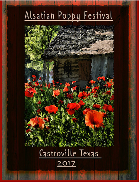 Enter Castroville's Second Annual Alsatian Poppy Festival Poster Contest - The Second Annual Alsatian Poppy Festival Poster Contest is sponsored in part by Red Oak Engineering. Two winners will be picked to receive a First Place award of $500; one in the student category, another in the adult category. From the two winners, one will be chosen to be the official Poppy Poster for 2018. Click the image to visit the website for more information.