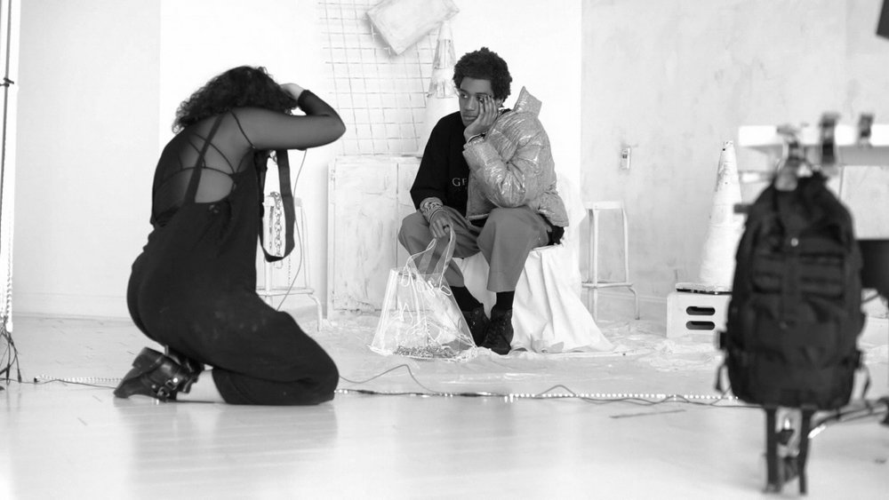 Behind-the-scenes with Lanee Bird and Jimi Lucid, Photo Courtesy of Holyrad Studio