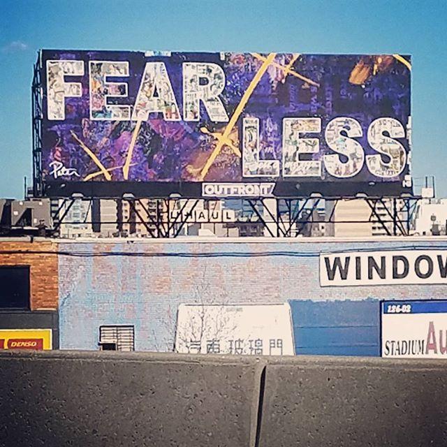 Fear less.