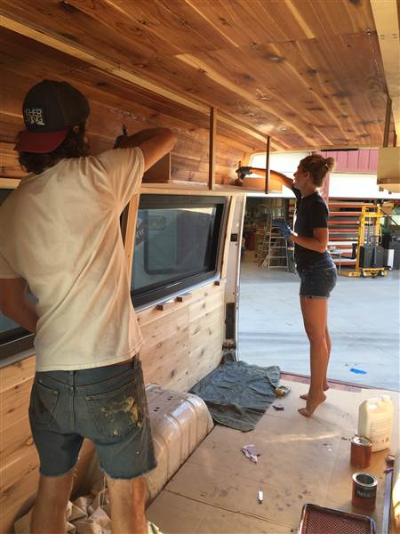 <p><strong>How This Couple Transformed An Airport Van Into A Cozy Home!  </strong>After graduating from college, Pete Thuli and Taylor Bucher spent 10 months...<i>Read More →</i></p>