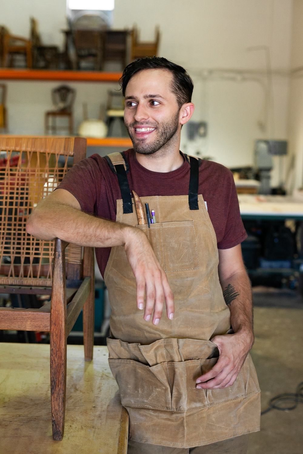 Jacob - younger brother to Sam and co-founder of Kin Furniture Co.