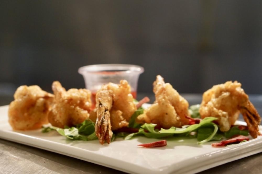 Coconut Shrimp Tempura