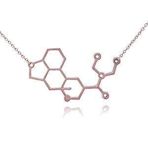 LSD Molecule Necklace