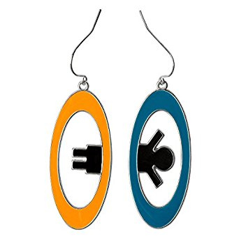 Portal 2 Inter-Spatial Earrings