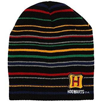 Hogwarts Striped Beanie