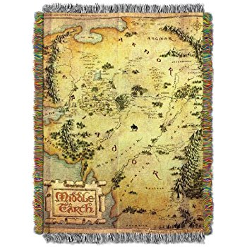 Middle Earth Woven Tapestry