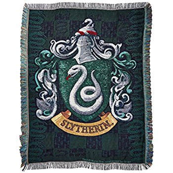 Slytherin's Crest Woven Tapestry
