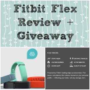 Fitbit Flex Giveaway
