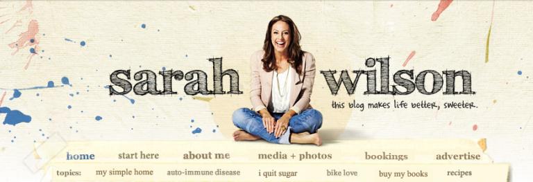 Sarah Wilson Blog