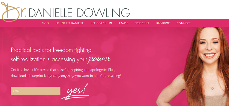 danielle dowling website