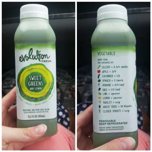 cold-pressed evolution juice