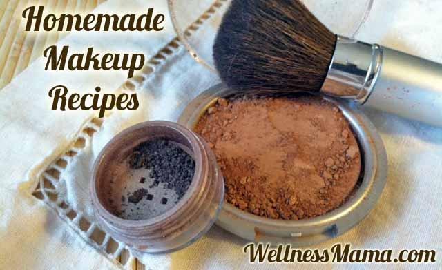 Homemade natural makeup recipes