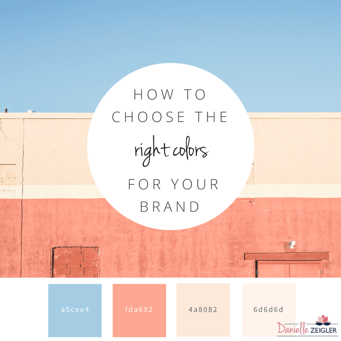 HOW TO CHOOSE THE RIGHT COLORS FOR YOUR BRAND IG