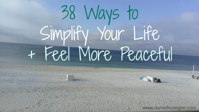 ways to feel more peaceful