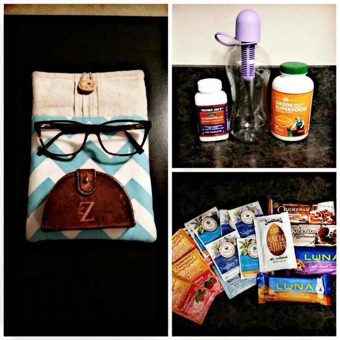 Healthy Travel Goodies