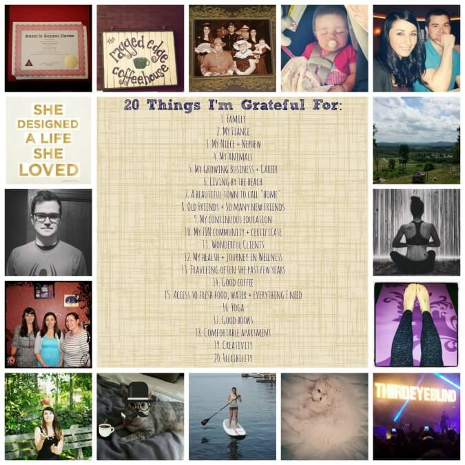 grateful collage