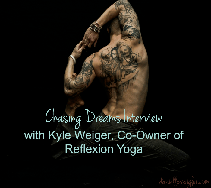 chasing dreams interview kyle weiger
