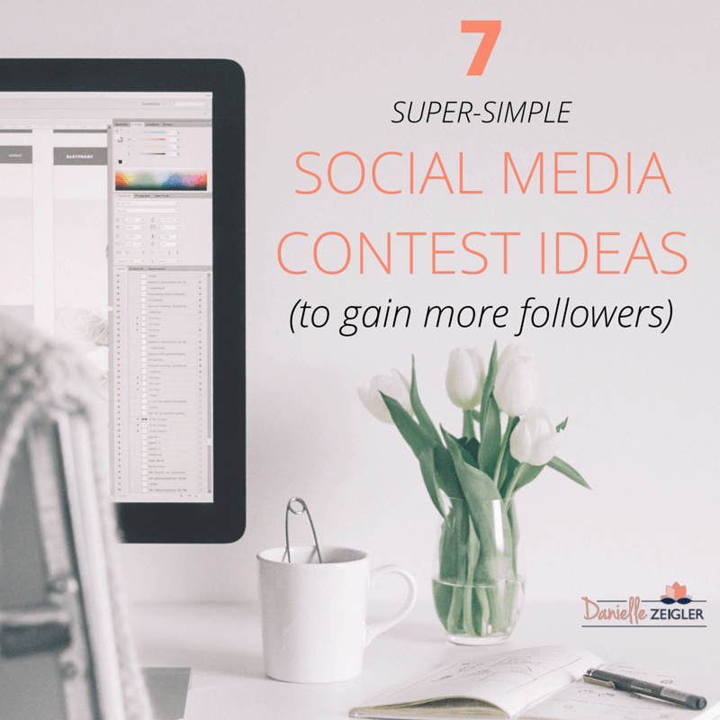 Simple Social Media Contest Ideas