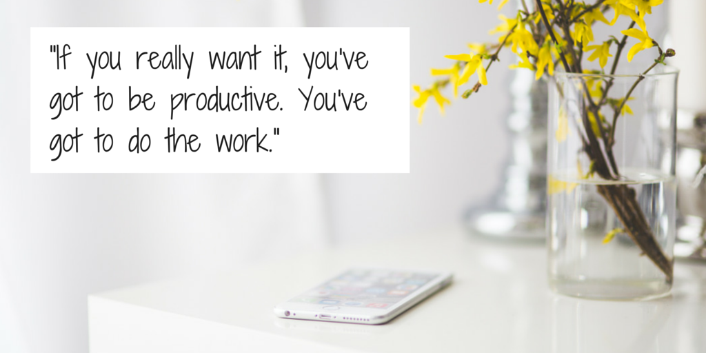 You've Got To Do The Work Quote