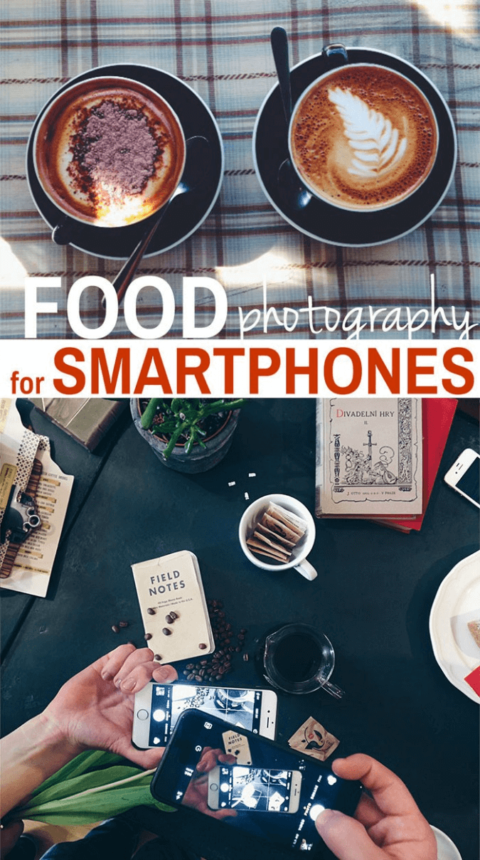 food photography for smart phones