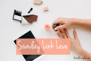 Sunday Link Love