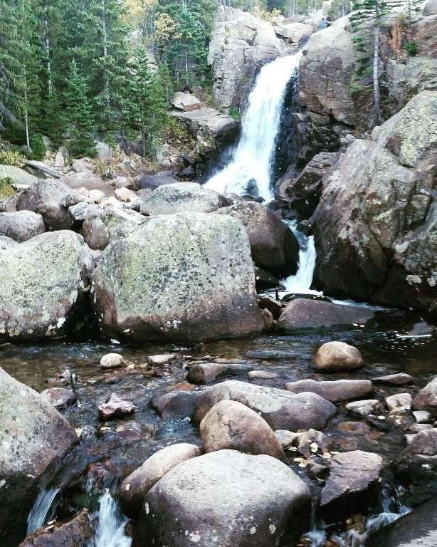 Alberta Falls Colorado