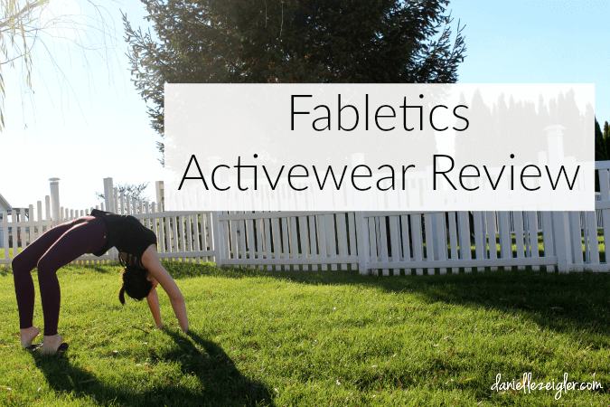 Fabletics Activewear Review