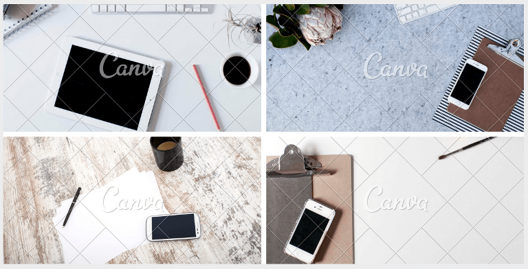 Canva Styled Stock