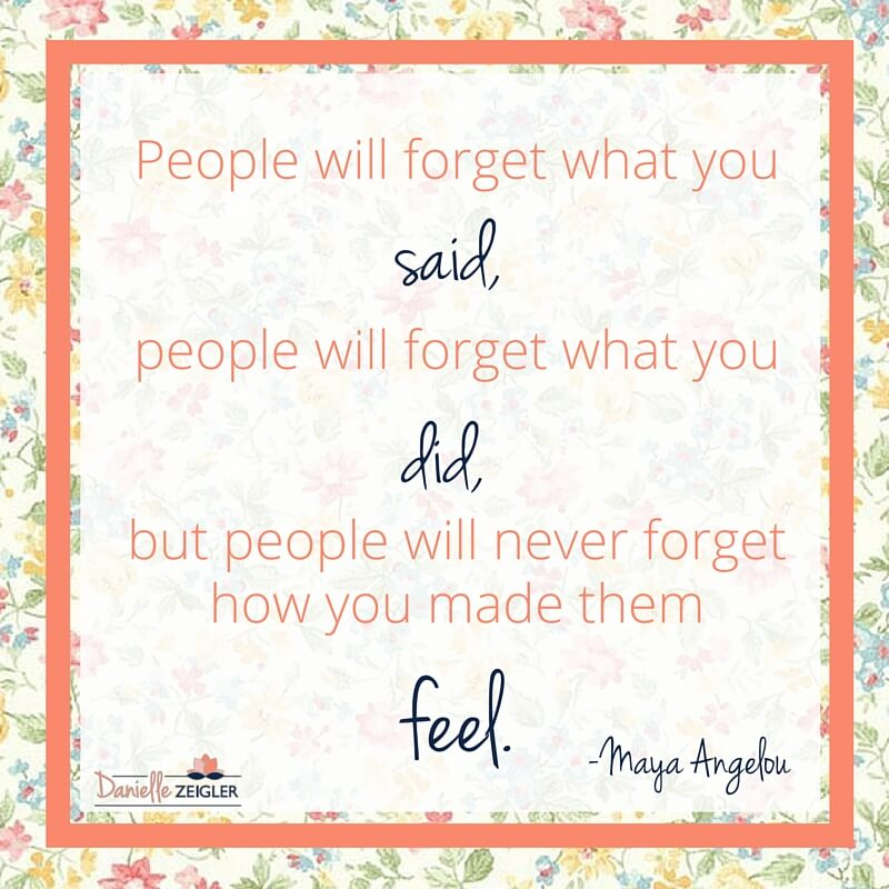 Maya Angelou Quote Made Them Feel
