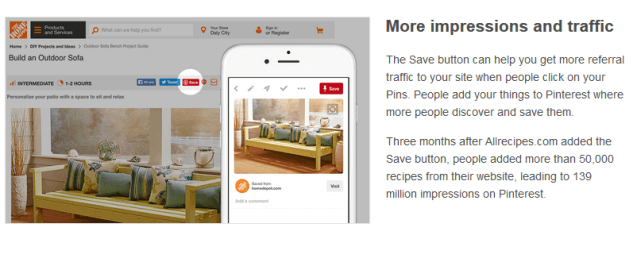 How to Add a Pinterest Save Button