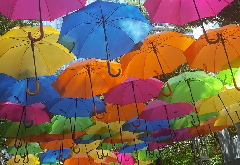 pittsburgh arts fest umbrellas