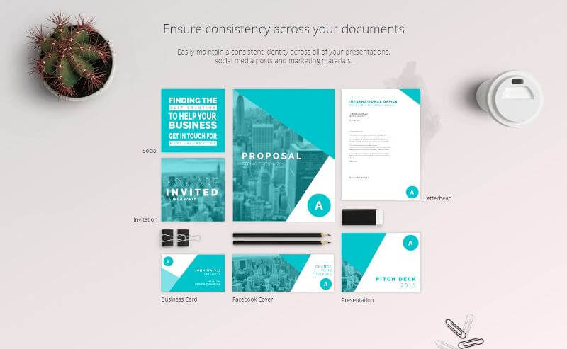 create consistent & beautiful images for your brand with Canva