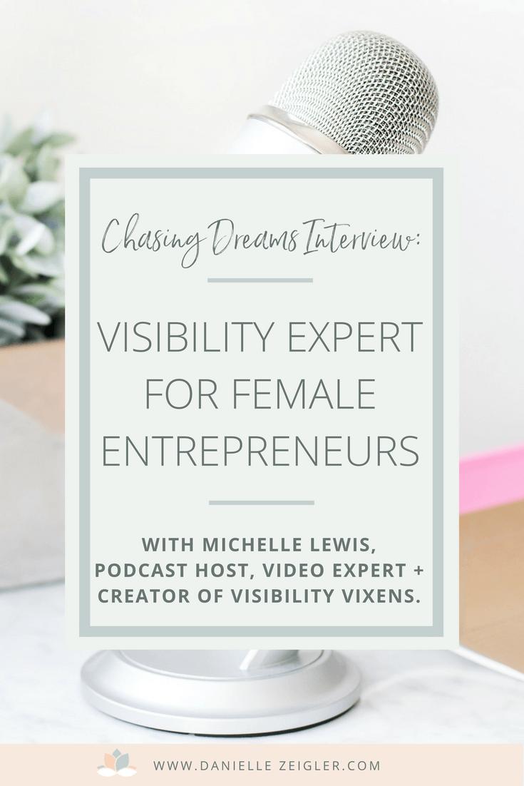 Visiblity Expert for Female Entrepreneurs | Video & Branding Michelle Lewis