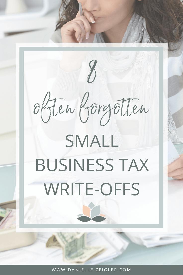 8 Often forgotten small business tax write-offs