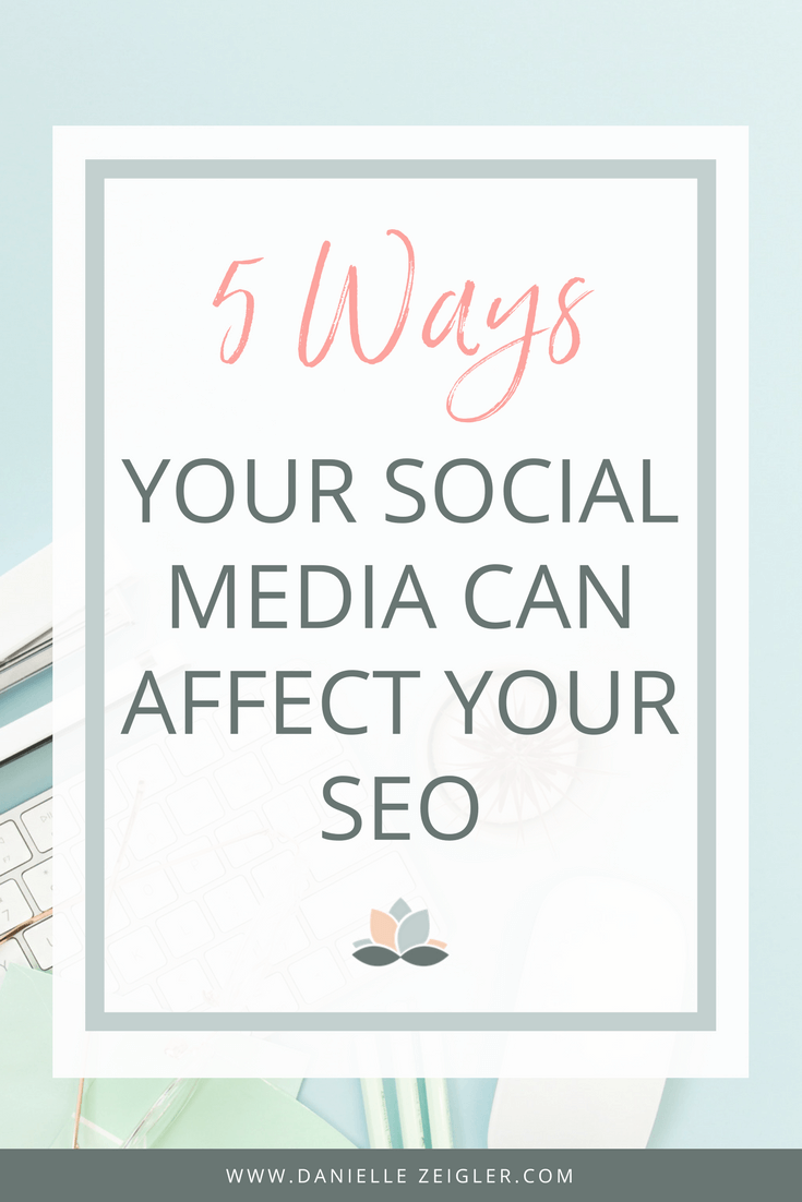 5 ways your social media can affect your seo