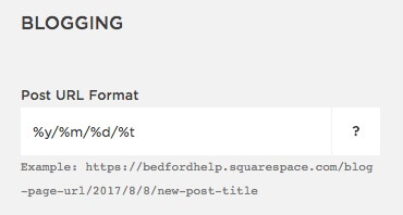 simple URL format