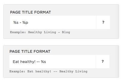 seo page title format