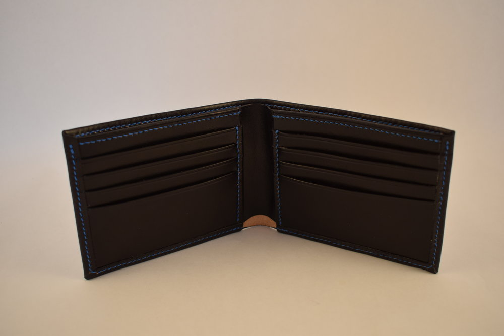 Billfold- Starting at $175 - A timeless classic, the traditional billfold style has endured for good reason. Combining utility with style, with this wallet looks great and always has what you need...Learn More