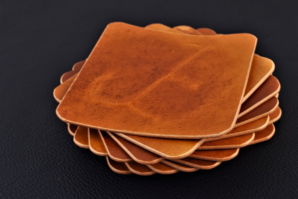 4 Piece Coaster Set- Starting at- $45 - A unique addition to decor, a hand-crafted coaster set will protect your tables from rings and start a conversation...Learn More