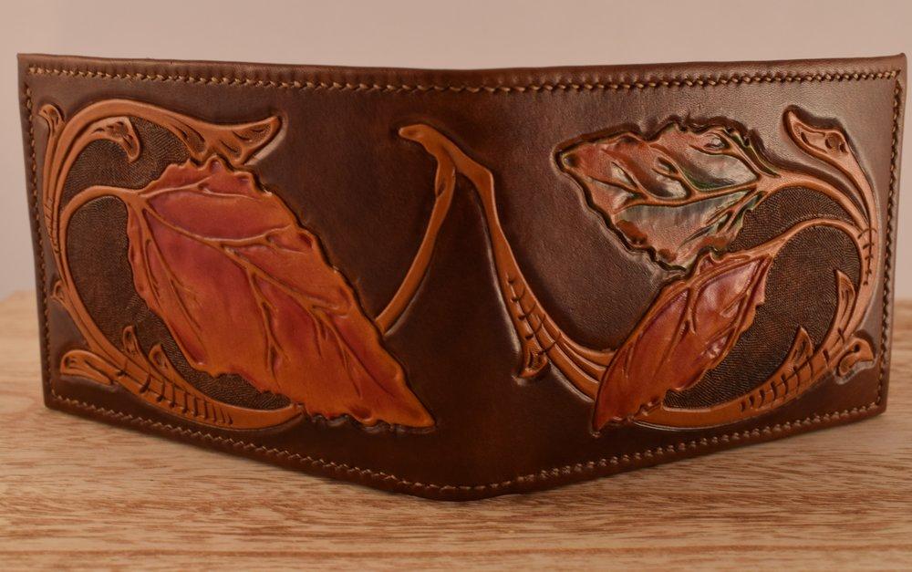 Custom Craftsman's Cut, Lined Cash Pocket, Folded Edges ($400)