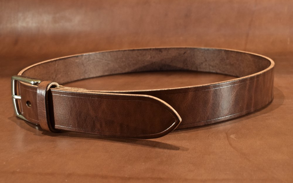 Simple Belt- Starting at $95 - Do not be deceived.  While it may be simple, clean and casual this belt is still a standout...Learn More