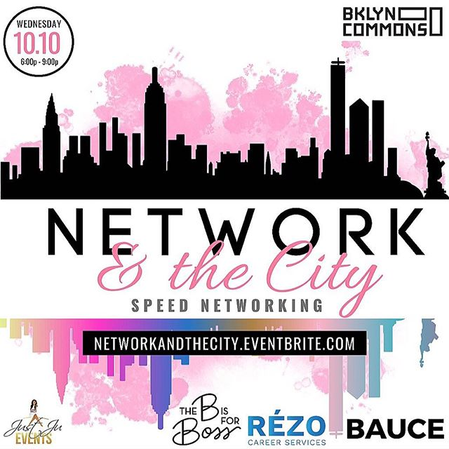 Meet us at Network & the City for some speed networking. I'll be there  next Wednesday, we will be raffling off @thebisforboss resume and Linkedin services, valued at $150. Not to mention, networking and BOSSING UP! Open to both men and women. RSVP at the link in bio. #thebisforboss #newyorkcity #publicrelations #sportspr