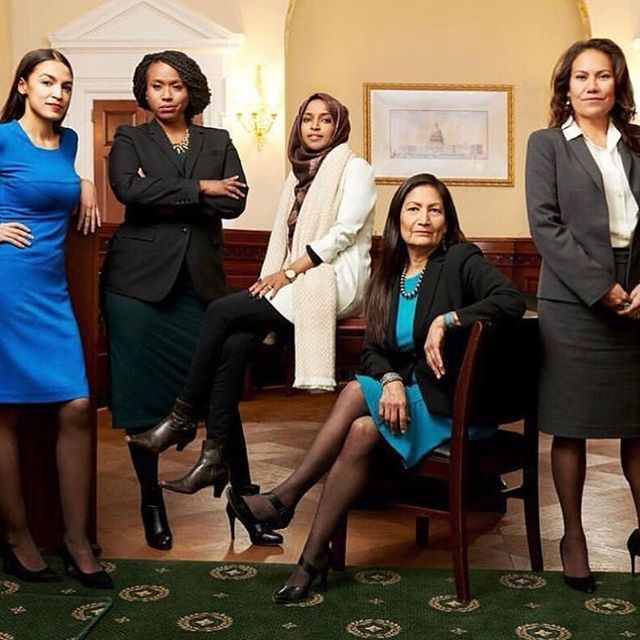 Today is a day of historic firsts in Congress. So excited that after today's swearing ceremony, the most female and most racially diverse Congress in history will begin governing. #thebisforboss