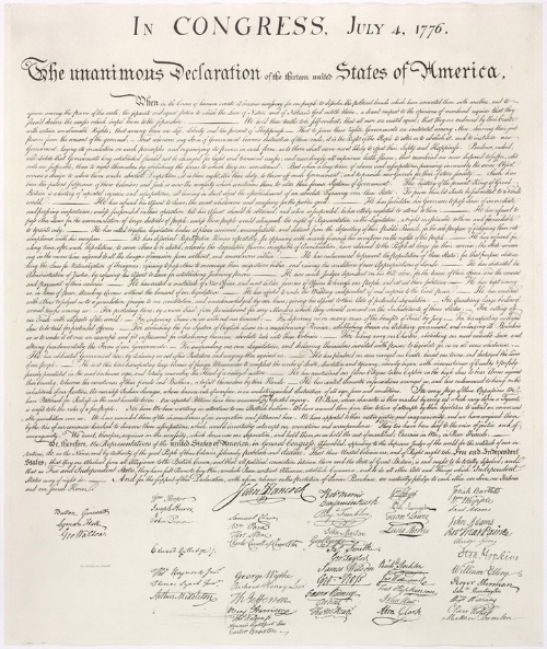 The Bill of RightsThe Constitution of the United StatesThe Declaration of Independence -