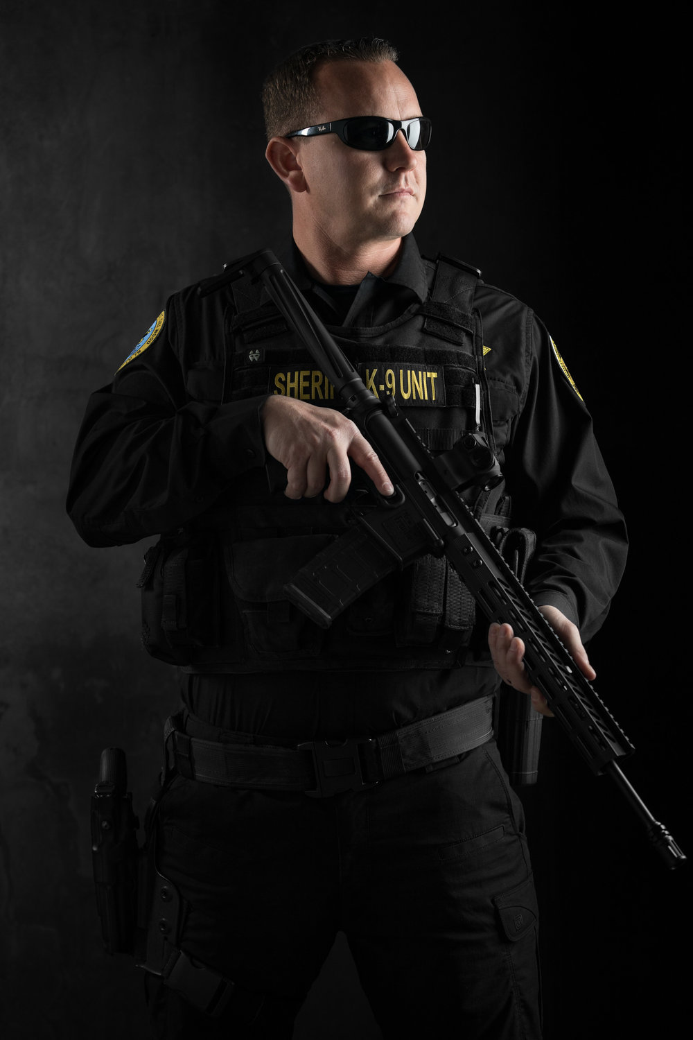 Nashville Advertising Photographer shot this image for the Clarksville PD